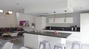 deco salon cuisine ouverte cuisine ouverte deco cuisine en image