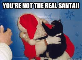 Dirty Santa Meme - you re not the real santa santa quickmeme