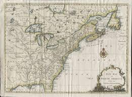 New England States Map 1760 To 1764 Pennsylvania Maps