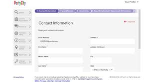 party city job application adobe pdf apply online