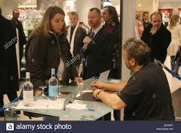 luc besson signing book