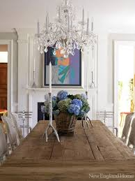 Best Dining Rooms Images On Pinterest Dining Room Home And - Crystal chandelier dining room