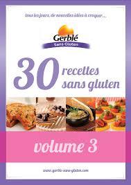 cuisine sans gluten livre livres gratuits de recettes sans gluten gerblé