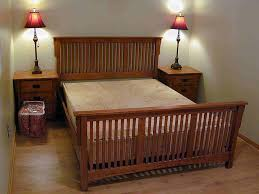 wood bed frame king house plans ideas