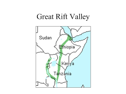 africa map great rift valley east africa landforms great rift valley ppt
