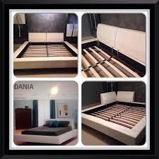 Dania Bed Frame Dania White Leather Platform Bed Furniture In Tacoma Wa
