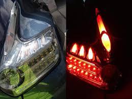 juke aftermarket tail lights closed fs led tail lights
