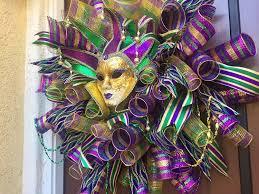 mardi gras deco mesh mardi gras door wreath deco mesh mardi gras wreath