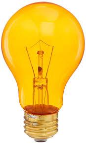 halloween light bulbs flicker amazon com halloween orange color colored light bulb lite party