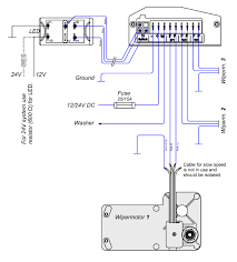 windshield wiper motor wiring diagram windshield wiper motor