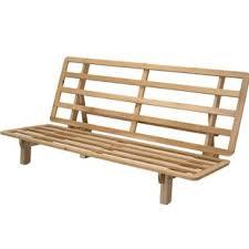 solid wood futon frame futon frames you ll love wayfair