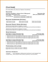 pdf resume template 7 resume template pdf professional resume list