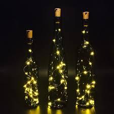 15 warm white led cork light 2 pack