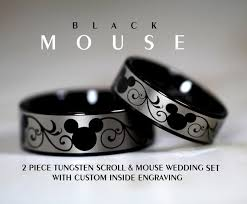 the marvels wedding band disney finds matching mickey wedding bands