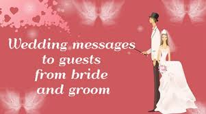 wedding wishes for the and groom wedding messages guests from and groom jpg