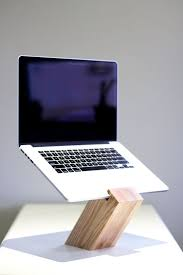 Oak Laptop Desk Greaterup Oak Laptop Stand Laptop Stand Minimalist And Solid Wood