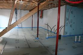 capillary beneath slab polyethylene sheeting or rigid