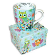 owl mug beautiful ceramic owl coffee mug with scripture