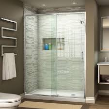 glass door in bathroom framed shower doors showers the home depot