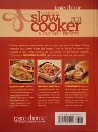 everyday slow cooker u0026 one dish recipes taste of home misc