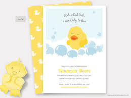 duck baby shower invitations rubber duck baby shower invitation printable rubber ducky shower
