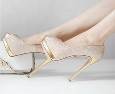 wedding shoes gold color bridal shoes wedding shoes cheongsam ultra high heels belt