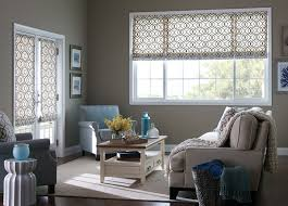 Budget Blindes Magnificent Printed Fabric Roman Shades And Roman Shades Modern