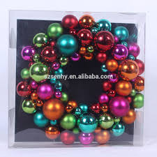 wholesale christmas plastic ball wreath decorations buy