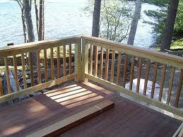 the advantages of using wood deck railing u2014 jbeedesigns outdoor