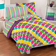 Free Bed Sets Factory Rainbow Hearts Bed In A Bag With Sheets Set Free