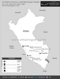Machu Picchu Map Vip Machu Picchu U0026 Sacred Valley Travel