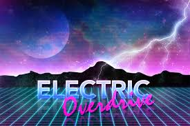 how to create 80s style retro futuristic neon artwork
