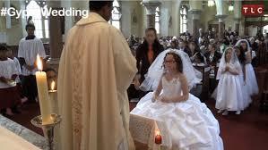 my communion my big wedding that girl s dress is just big