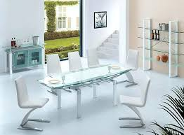 glass dining room table set frosted glass dining room table mitventures co