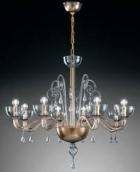 Murano Blown Glass Chandelier Lampadari In Vetro Di Murano Murano Blown Glass Chandelier