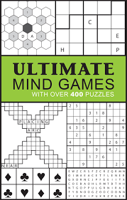 ultimate mind games with over 400 puzzles puzzle books