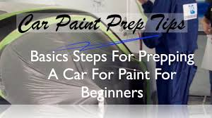 Auto Body Job Description How To Prep Paint Basic Steps To Prep A Car For Paint Before