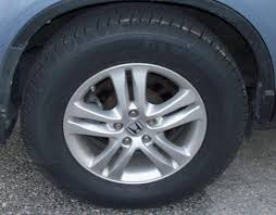 2011 honda crv tires 2012 crv tires to fit in the wheel well