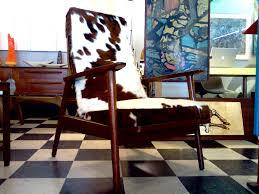 Danish Modern Furniture Houston by Cow Hide Lounge Chair Play That Funky Music