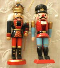 Nutcracker Christmas Tree Ornaments by Wooden Soldier Ebay