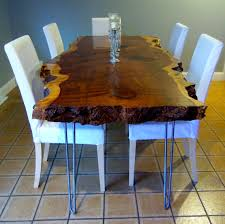 Redwood Dining Table Live Edge Table Live Edge Dining Table Live Edge Redwood Table