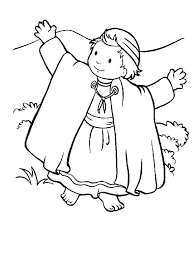 david sheep coloring david shepherd boy hold