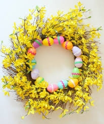 easter wreath 6 easter wreaths that ll bring to your door real simple
