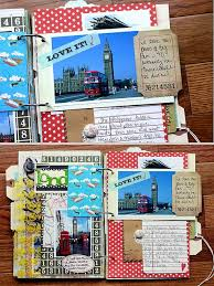 scrapbook inserts best 25 scrapbook travel album ideas on photo album
