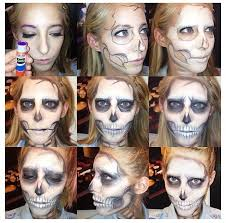 easy skeleton makeup diy skeleton costume skeleton makeup tutorial skeleton makeup ideas costumes