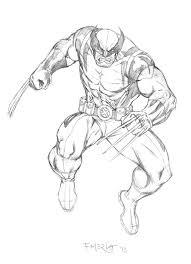 wolverine sketch by fernandomerlo on deviantart