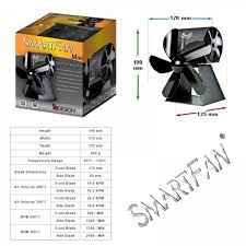 smart fan mini stove fan smart fan mini wood burning stove fan multifuel stove fan
