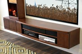 wall mount media cabinet tv floating media console wood wall mounted storage cabinet stand