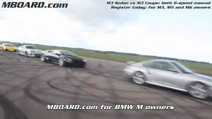 hd bmw m3 sedan vs bmw m3 coupe mboard com youtube