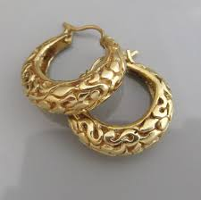 real gold earrings real gold hoop earrings already4fternoon org